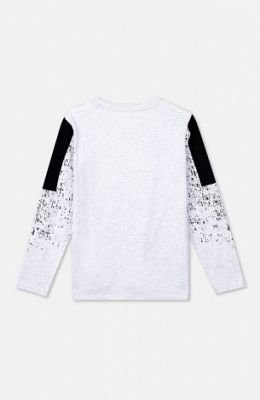 Фуфайка трикотажная для мальчиков (футболка с длинным рукавом) - фото 1
